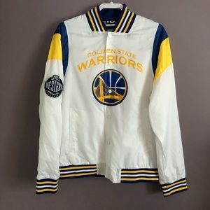 NBA Golden State Warriors Mesh Lined Jacket Size L